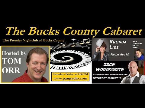 The Bucks County Cabaret Radio Show - Episode 2 - 8/6/2016