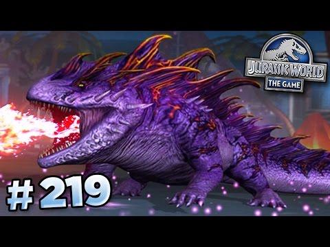 SALAMANDER 16 STRIKES! || Jurassic World - The Game - Ep219 HD