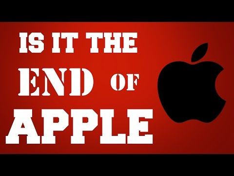 Apple Sales are is falling, Is it the END of APPLE?
