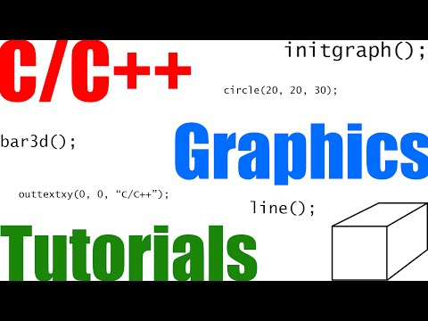 C/C++ Graphics Tutorial 14 | Drawpoly and Fillpoly - YouTube