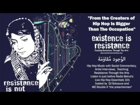 Existence is Resistance Interview with Professor Daniel Drennan on Radio Beirut