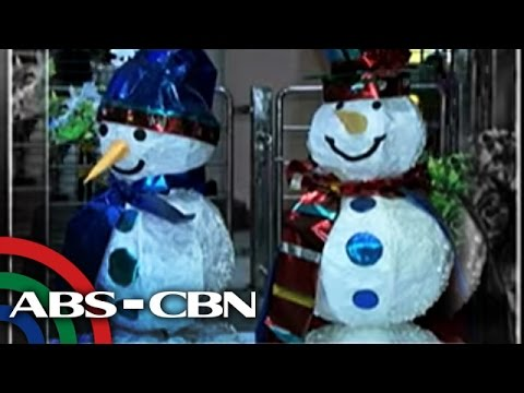 WATCH: MRT Christmas decors from recycled materials