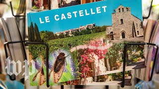 A town in southern France celebrates cicadas with a statue, souvenirs and song