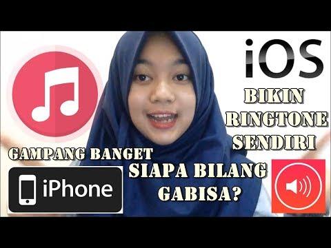 MUDAH MEMBUAT RINGTONE/NADA DERING SENDIRI DI IPHONE ATAU IPAD (IOS) TANPA BAYAR !