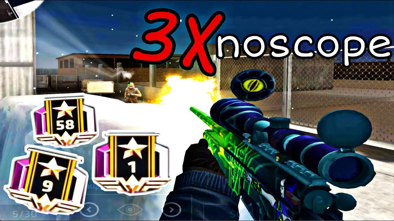 TRIPLE NOSCOPE In Ranked / Playing With The #1 Elite Ops Player / Grind2Elite #4 / Critical Ops 1.17