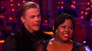 FULL -  Derek Hough and Amber Riley TANGO : DWTS Season 17, Week 4