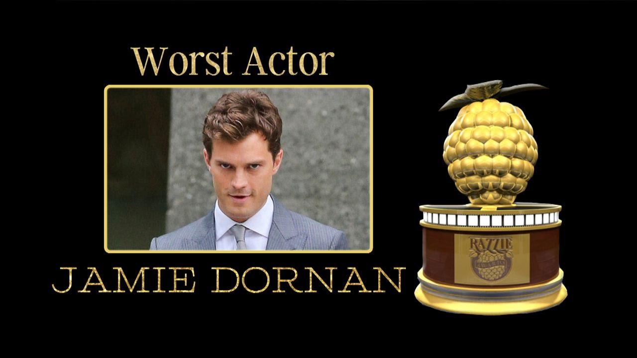 Resultado de imagem para razzies 2018 worst actor