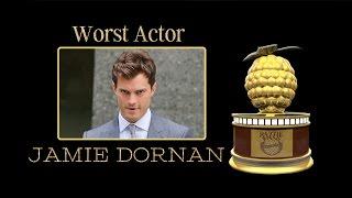 36th Razzie Worst Actor   Jaime Dornan