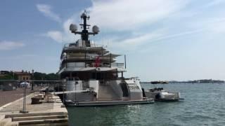 SuperYacht Polar Star in Venice