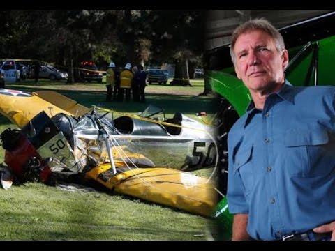 ด่วน!แฮริสัน ฟอร์ด ขับเครื่องบินเล็กตก เจ็บสาหัส