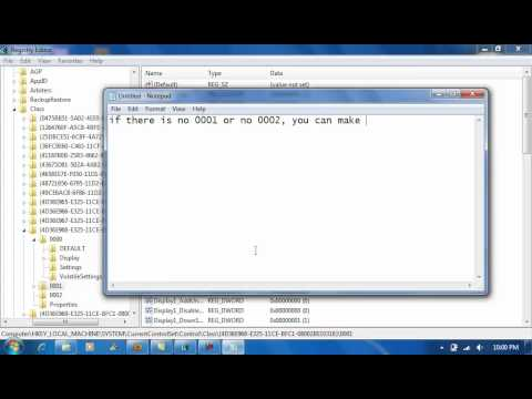 Enable 1024x768 resolution (win7) on acer aspire one d255