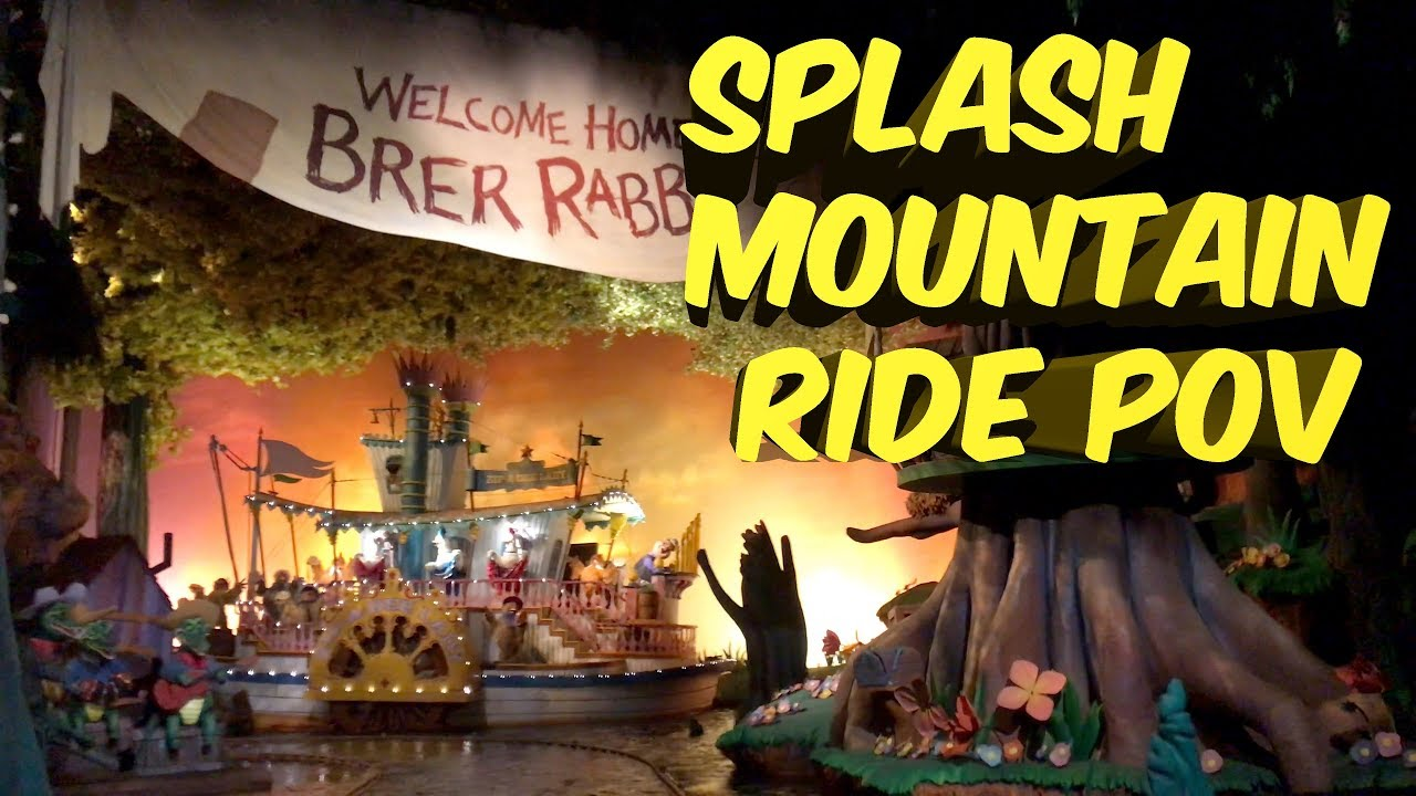 Splash Mountain Full Ride at Magic Kingdom Disney World 2019