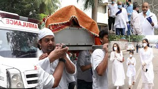 Wajid Khan Funeral Full Video   Last Moments   Death Video   Bolly Fry