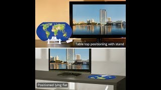ANTOP World Map AT-122B Paper Thin Smartpass Amplified Indoor HDTV Antenna Unboxing Review