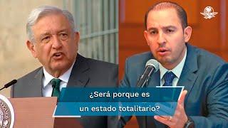 El líder nacional panista con licencia, Marko Cortés, señaló que Cuba es un estado totalitario que persigue a quien piensa diferente y donde las libertades y derechos no son respetados
