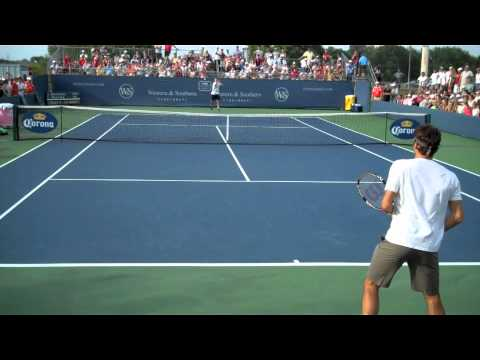 Federer Cincy Practice Part 1.mov