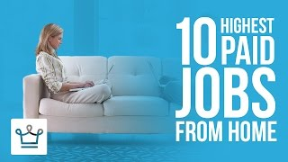 10 Highest Paid Jobs You Can Do From Home thumbnail