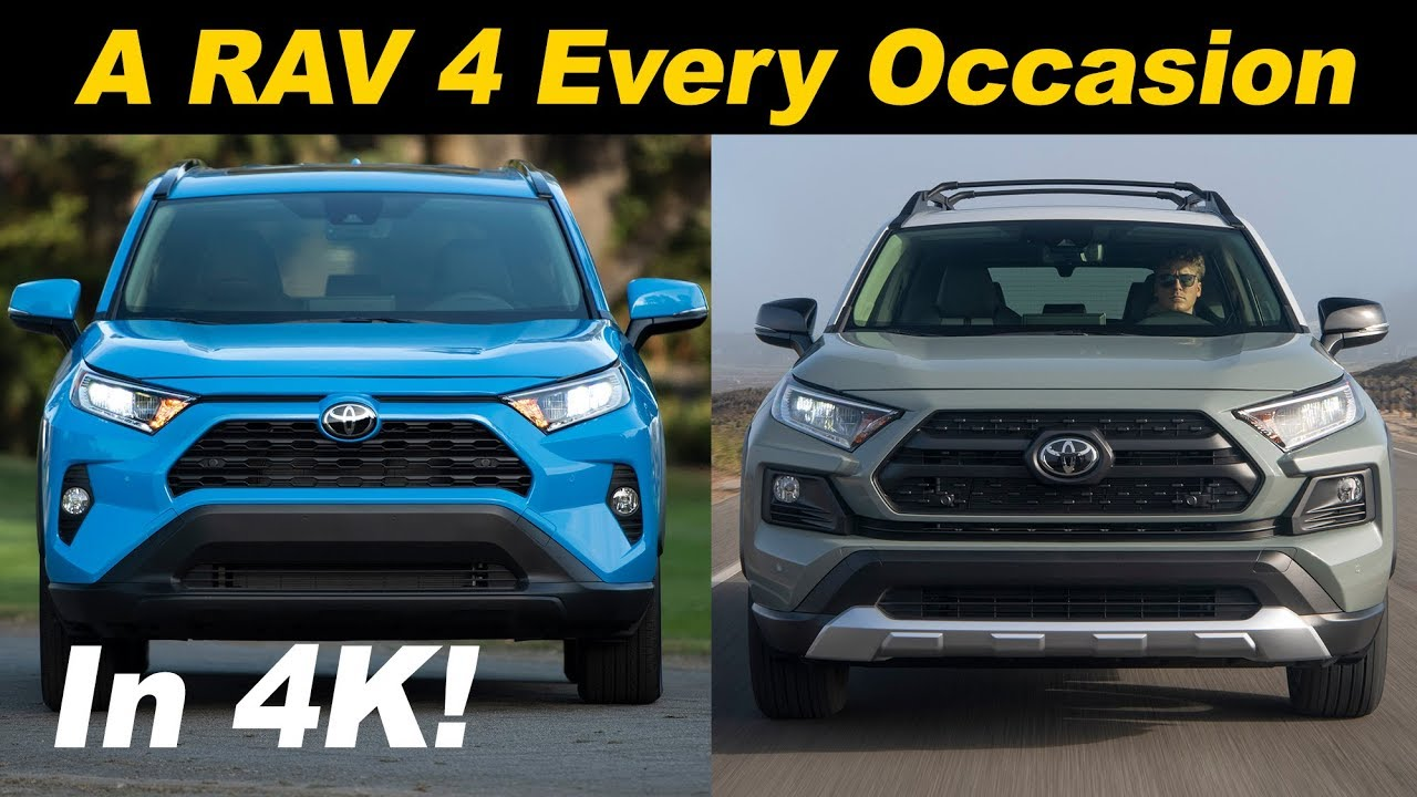 2019 Toyota RAV4 First Drive - Compact Crossover King?