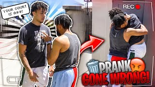 He Tried To Fight Me... Prank Gone Wrong 😡💩