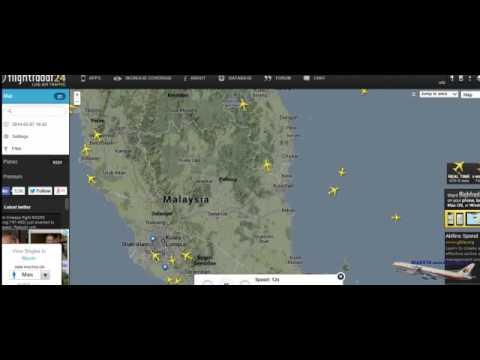 [FULL] Radar Playback Malaysia Missing Flight MH370 MAS370 on March 2014