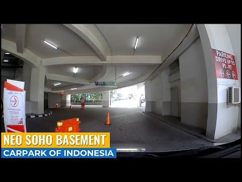Tempat Parkir Basement Neo Soho Podomoro City Jakarta ~ Carpark of Indonesia
