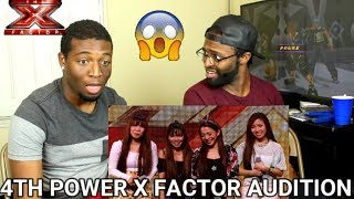4th Power raise the roof with Jessie J hit | Auditions Week 1 | The X Factor UK 2015 (REACTION) - Stafaband
