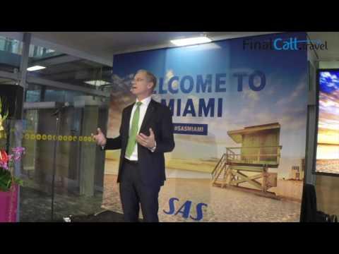 SAS Inaugural Flight: Oslo - Miami