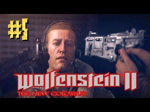 Смотреть или скачать Wolfenstein™ II: The New Colossus ► Юмористы ► Прохождение #5 онлайн бесплатно в качестве