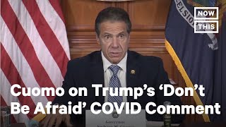 Cuomo Calls Out Trump's Privileged COVID Medical Care | NowThis