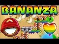 Rainbows = OP in Speed BANANZA! (Bloons TD Battles)