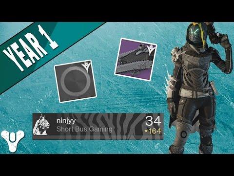 Destiny | Year 1 VIP Rewards! (The Old Guard Shader, Be Brave Emblem, & S-34 Ravensteel)