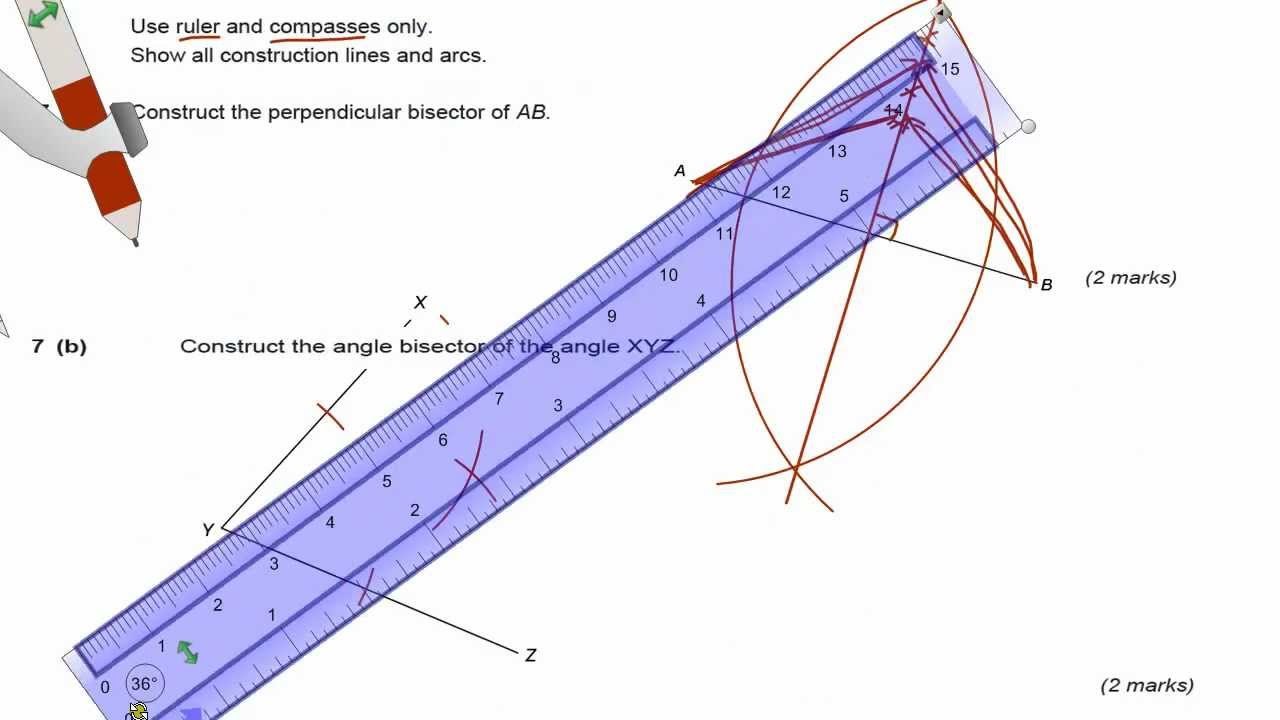 angle bisector construction - photo #10