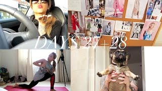 Vlogtober Days 27 & 28 | How to cook Steak with Jason + My Style Inspiration board