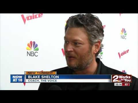 Blake Shelton talks about his love for Oklahoma