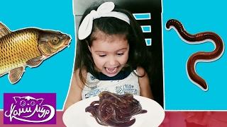 Обычная Еда против Мармелада Челлендж! Ками Мур ПЛАЧЕТ от Счастья! Real Food Gummy Food Candy Challe