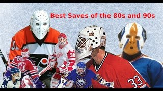 Best Saves Of The 80s and 90s NHL
