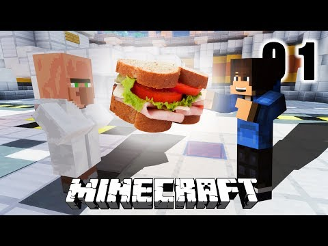LE MEILLEUR SANDWICH DU MONDE - MINECRAFT MAP AVENTURE THE MISSING SANDWICH #1