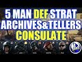 5 Man Strat- Consulate, Defending Archives & Tellers: Rainbow Six Siege Wind Bastion