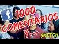 1000 COMENTARIOS Y...   MODAS DE FACEBOOK   SKETCH