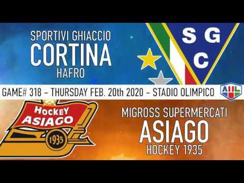 20200220 Master Round SG Cortina Hafro - Asiago Hockey