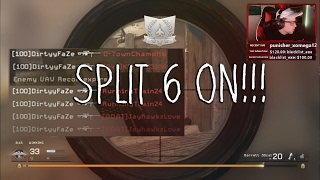 HIT A SPLIT 6 ON SCREEN!!! (Crazy Stream Highlights)