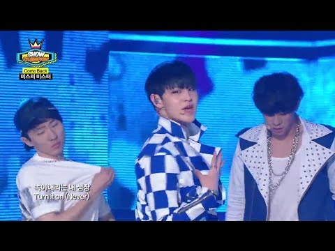 MR.MR - BIG MAN, 미스터미스터 - 빅 맨, Show Champion 20140514