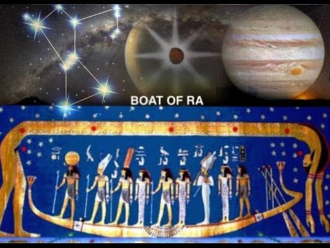 BOAT OF RA 13th Pillar of DNA Abyss CERN Ogdoad Osiris & CAI
