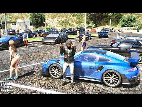 GTA 5 REAL LIFE MOD #313 - CAR MEET (GTA 5 REAL LIFE MODS)
