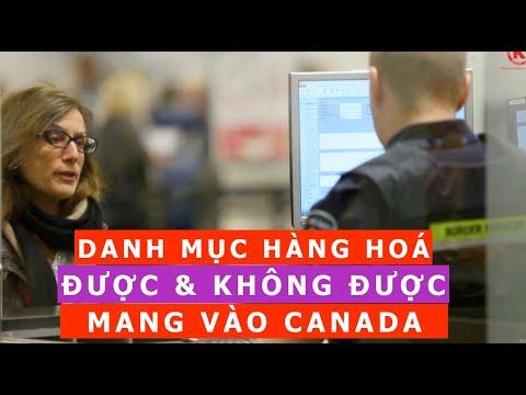 gửi hàng đi canada - Kinh nghiệm Nhập Cảnh sân bay Canada | ĐƯỢC VÀ KHÔNG ĐƯỢC MANG GÌ VÀO CANADA