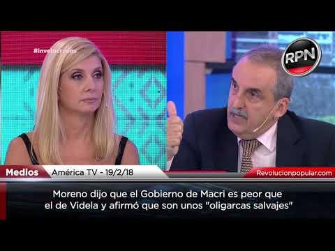 """Moreno: """"este gobierno es peor que el de Videla"""""""