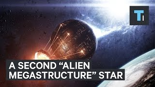 Second, new 'alien megastructure' discovered