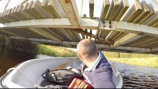 Ловля ультралайтом на реке Яама. Удалось уговорить окуня.