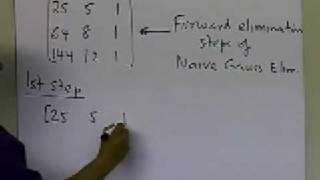LU Decomposition Method: Decomposing a Matrix Example: Part 1 of 2