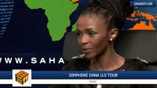 South African Jazz Musician Simphiwe Dana In The Studio